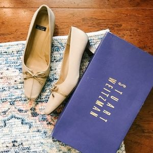 Stuart Weitzman Little Bow Heels